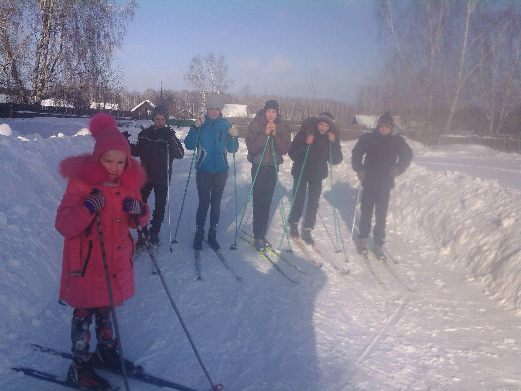 ШСЛ лыжные гонки
